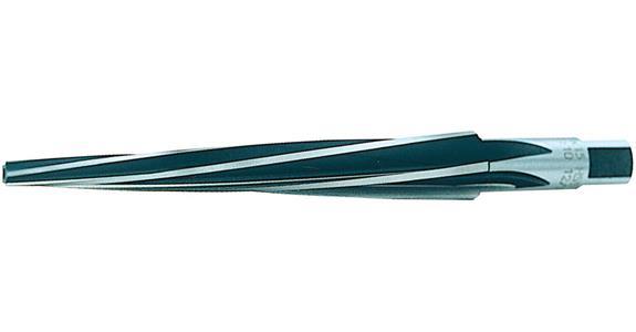 Kegelreibahle Stiftloch HSS Reibahle 1:50 TITEX 1,0-10,0 mm spiralgenutet
