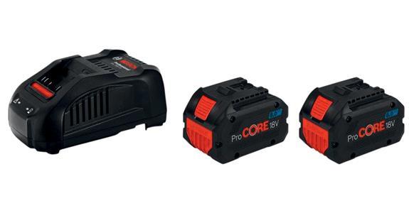BOSCH Starter Set 18V 2x ProCore 8,0Ah + GAL 1880 CV